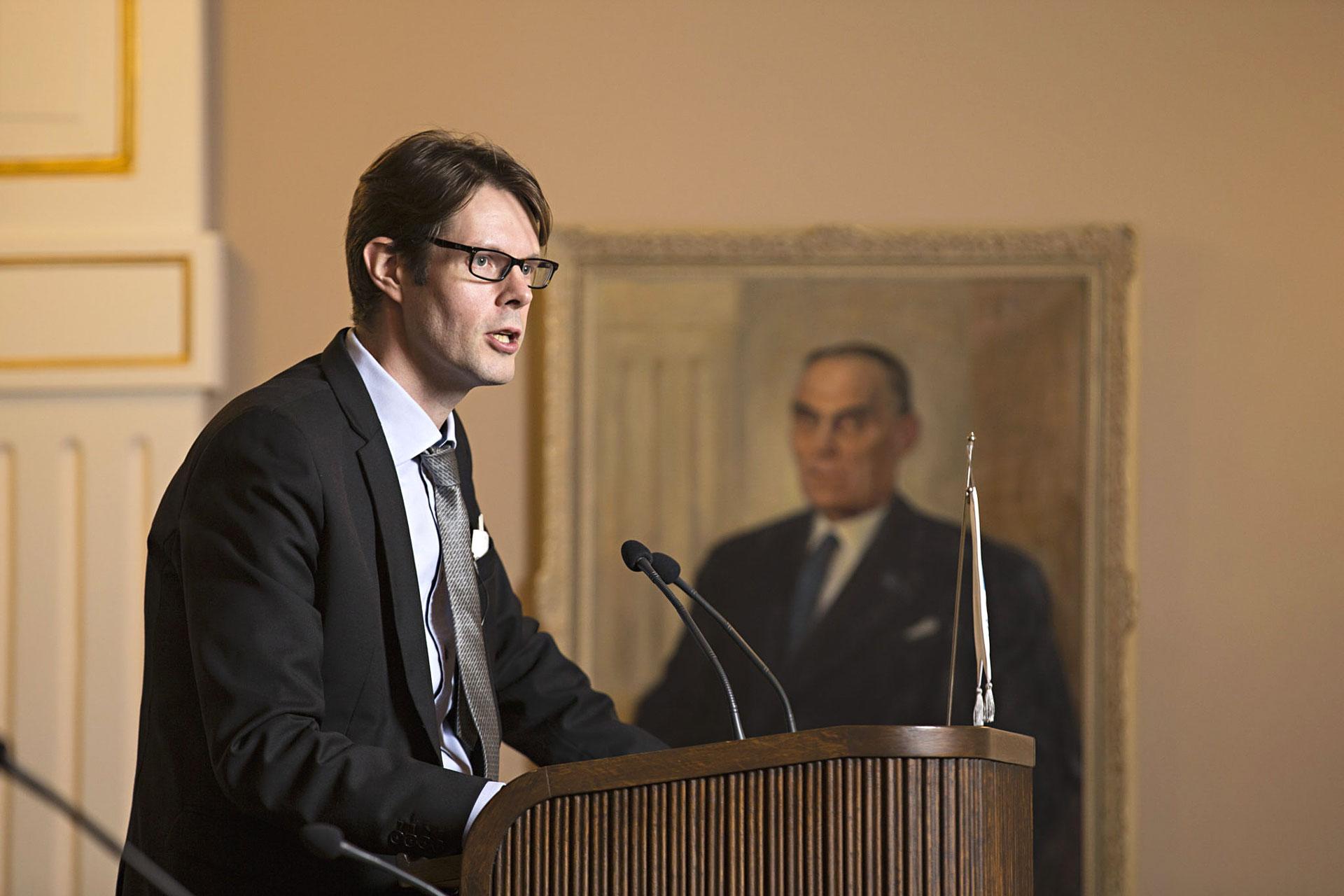 Jaakko Selin - puheenvuoro kaupunginvaltuustossa